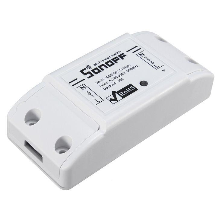 Hot Sale DIY Sonoff Pintar Remote control Nirkabel untuk Rumah Pintar WiFi komunikasi Penolong Yang Baik