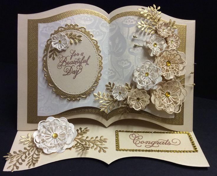 Оформление открытка к золотой свадьбе