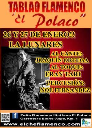 """La Lunares   Tablao Flamenco """"El Polaco"""""""