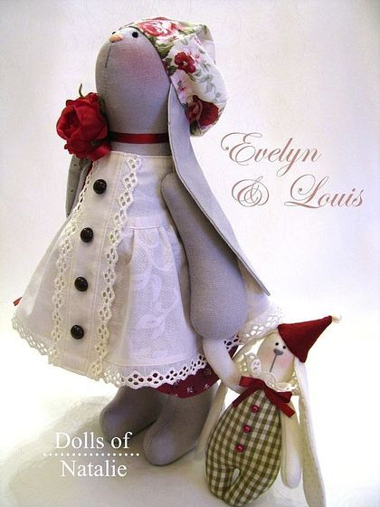 Dolls of Natalie: Evelyn and Louis