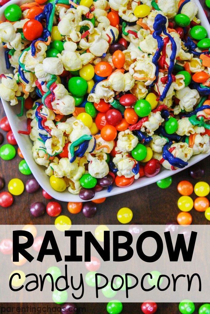Rainbow Candy Cake: 17 Best Images About Popcorn On Pinterest
