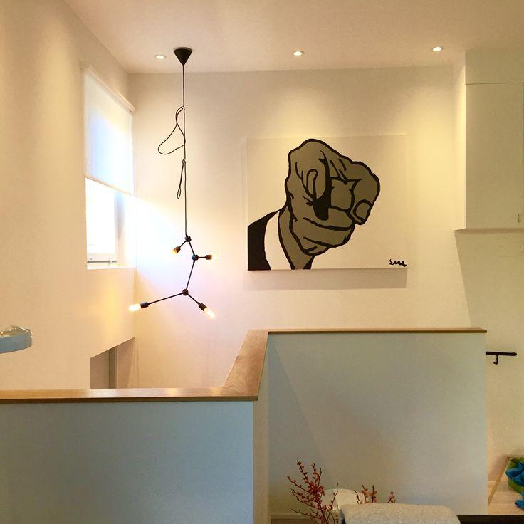 """Roy Lichtensteins """"pekande finger"""" by Svante.."""