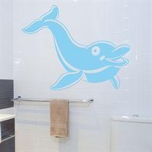 Wallsticker Delfin