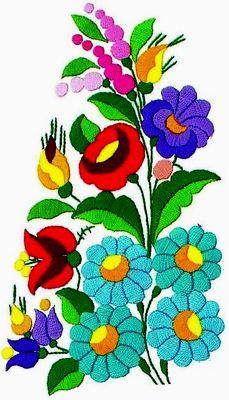 Hungarian - Kalocsa embroidery