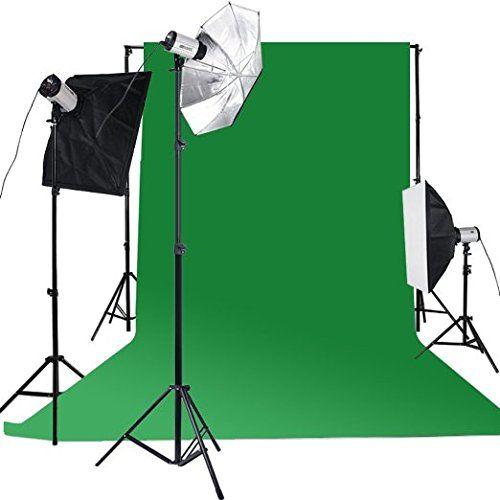 BPS Profi 900W Fotostudio Set Studioleuchte Fotografie: Amazon.de: Kamera