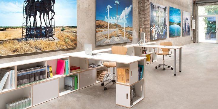 Brickbox - estanterias, librerias modulares