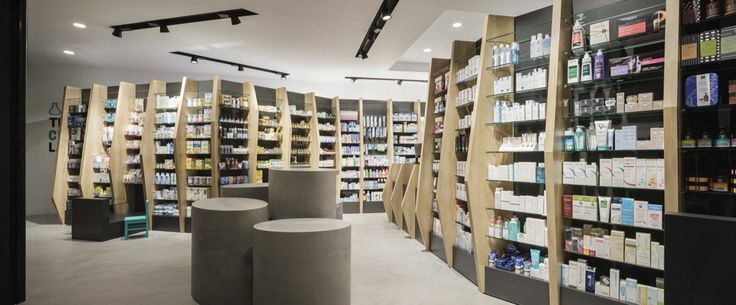 Cure and Care / Pharmacy Shop / Athens / Pharmacy Design / Retail Design / Store Design / Pharmacy Shelving / Pharmacy Furniture / Gallery of Pharmacy / Superdrug Store / Pharmacy Interior Design