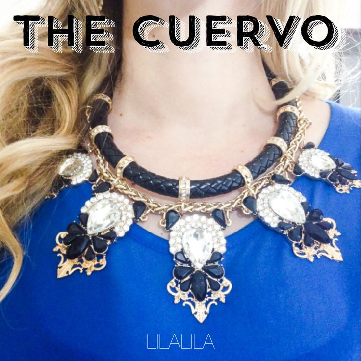 The Cuervo by LILALILA  statement jewelry