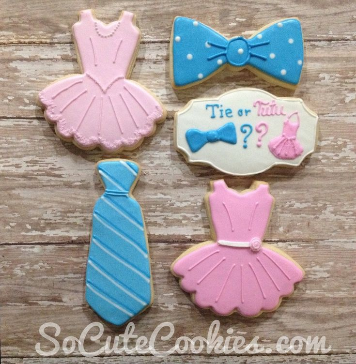 Ties and Tutus Gender Reveal
