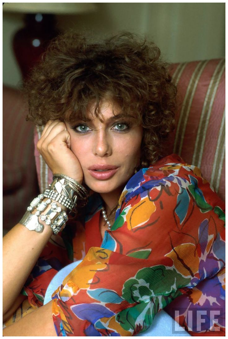 Kelly LeBrock (1960 -) Photo David Mcgough, 1985