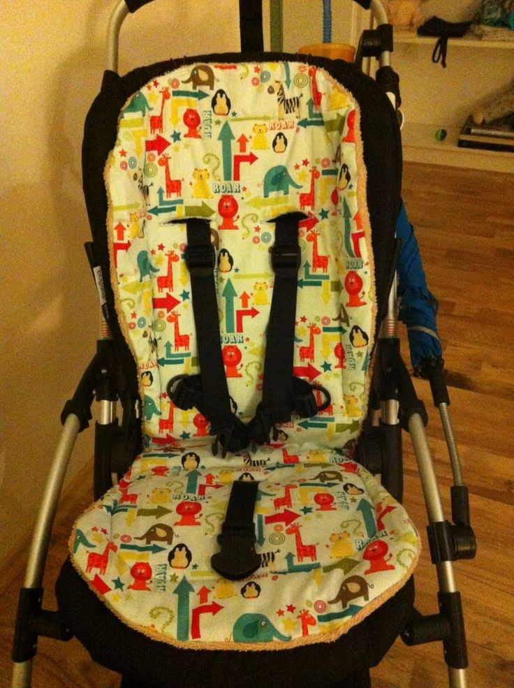 nähen by KeDiYa: Tutorial - Kinderwagensitzauflage (Bugaboo, für andere sicher anpassbar)