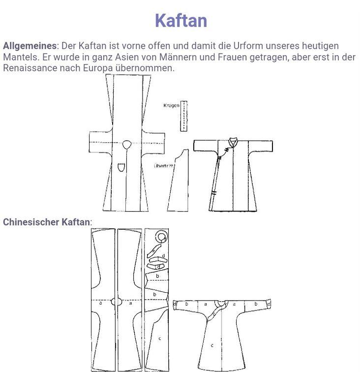 Attractive Kaftan Schnittmuster Kostenlos Pattern - Decke Stricken ...