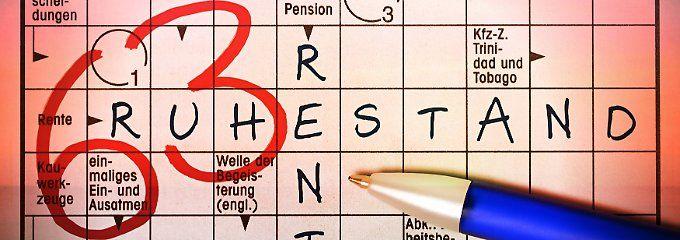 Die Rente mit 63 geht meist mit hohen Einbußen einher.