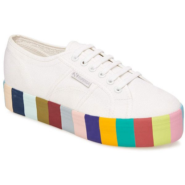 Rainbow sneakers, Shoes, Colorful sneakers