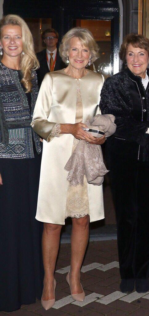 Princess Irene wears Addy van den Krommenacker Couture at the festivity marking…