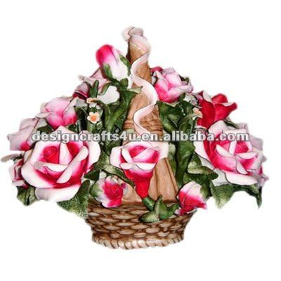 Artificial Flower Arrangements in Baskets | Xiamen Designcrafts4u Industrial Co., Ltd. [Verificado]