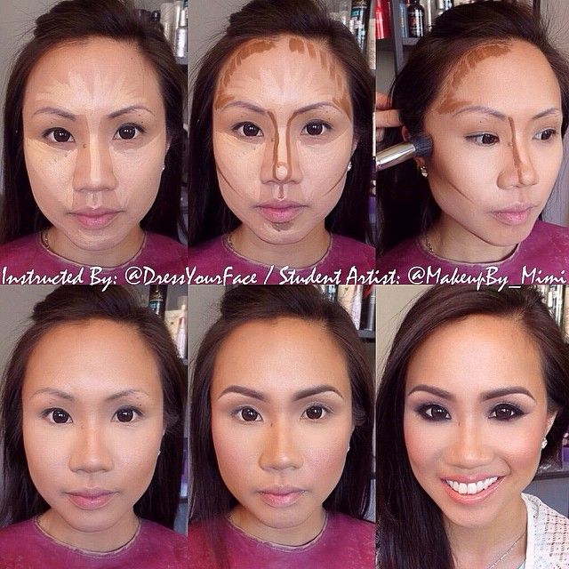 after applying foundation, create your highlight map using @L.A. Girl Cosmetics HD pro conceal