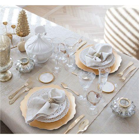Подставочная тарелка с волнами золотистая | ZARA HOME Россия / Russia