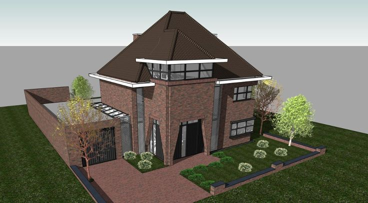 1197 best images about drawing presentation on pinterest - Gevels van hedendaagse huizen ...