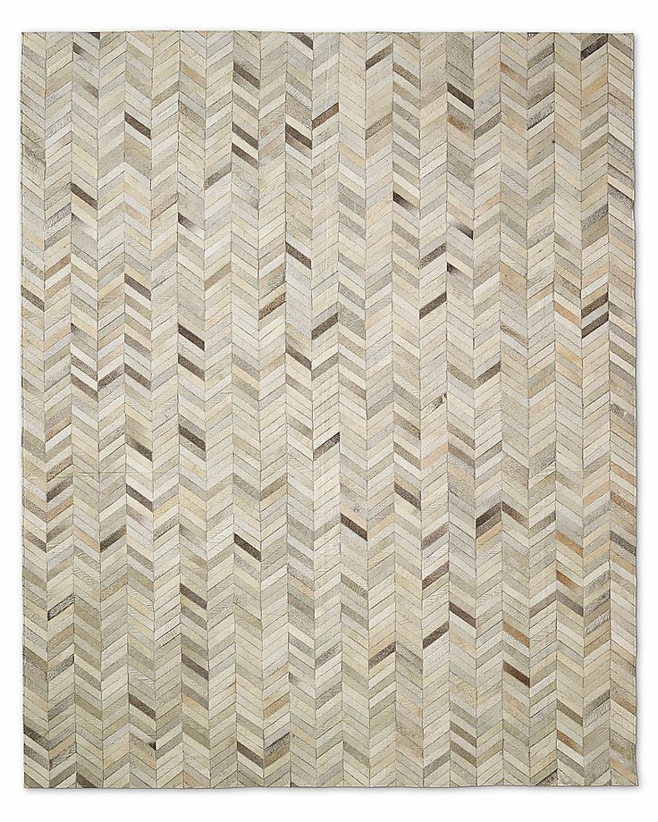 Chevron cowhide rug sand floored pinterest cowhide for Cowhide rug houston