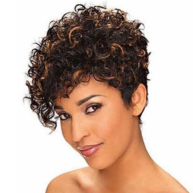 Short Thick Curly Hairstyles For Black Women Curly Hair Styles