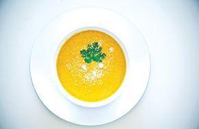 Имбирно-тыквенный крем-суп - кулинарный пошаговый рецепт с фото на KitchenMag.ru