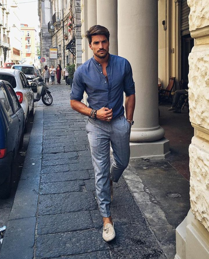 Mens fashion and style - yes or no? #oxford #tonal #style