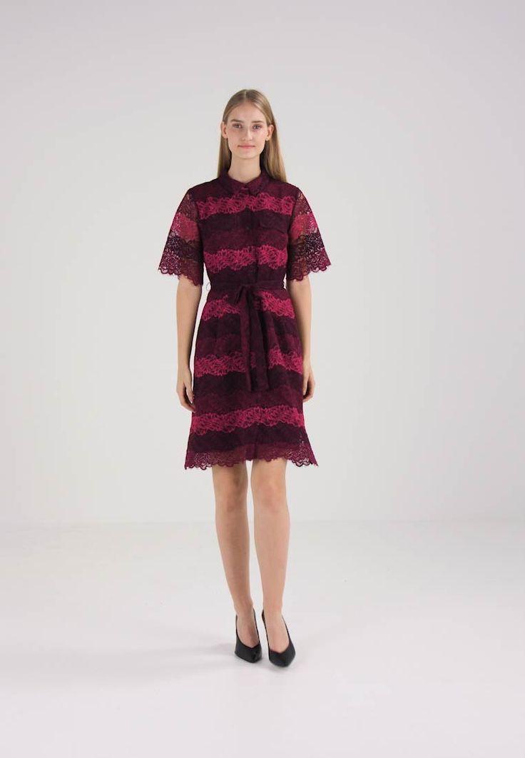 Banana Republic Sukienka koszulowa - cranberry za 314,5 zł (25.02.18) zamów bezpłatnie na Zalando.pl.