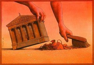 """Estava lendo sobre Marxismo e li a frase: """"Tudo vira Mercadoria"""", aí vi essa imagem e me perguntei até que ponto as coisas são mercadorias? O governo vê tudo ou joga o que não interessa para debaixo do tapete?"""
