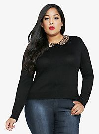 Leopard Hello Kitty V-Neck Tee | Torrid