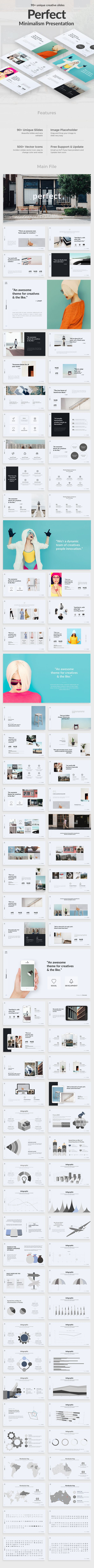 Perfect Project Minimal Powerpoint Template
