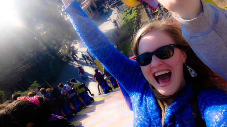 Fantasilandia is one great think you can do in Santiago de Chile. It it's Chile's only amusement park! And it's a lot of fun!