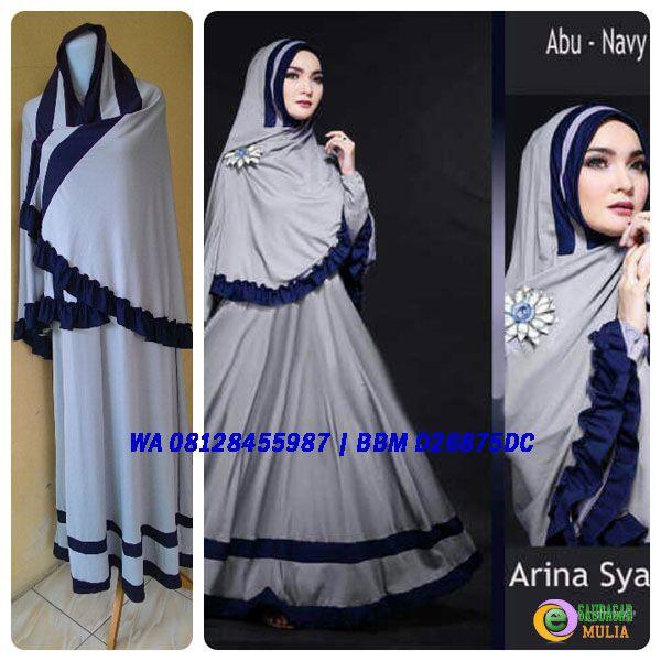 Baju Gamis Cantik Arina