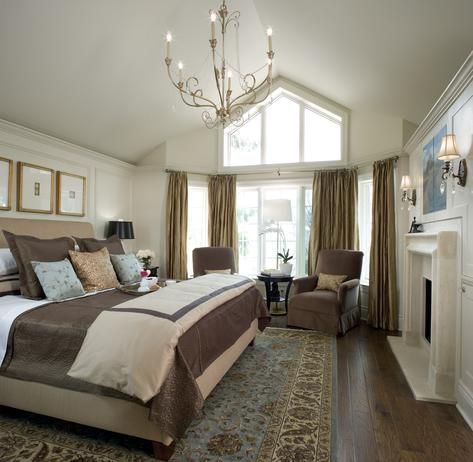 10 divine master bedrooms by candice olson fireplaces for Master bedroom designs hgtv