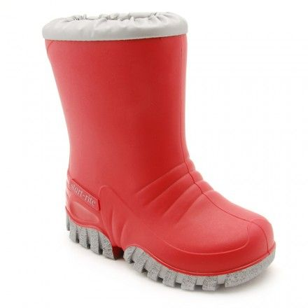 Baby Mud Buster, Red Boys Water Resistant Wellies - Boys Boots - Boys Shoes http://www.startriteshoes.com/boys-shoes/boots/baby-mud-buster-boys-red-slip-on-wellies