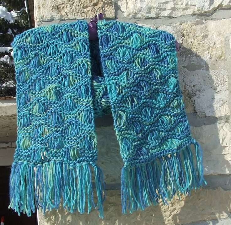 Knitting Pattern Scarf With Fringe : The 25+ best ideas about Fringe Scarf on Pinterest Scarves, Triangle scarf ...