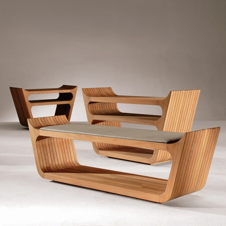Fab.com | Wood Viking Bench: Vikings Benches, Cnc Router Wood, Wood Vikings, Chairs Stools Lounges S, Cnc Furniture, Cnc Router Furniture, Cnc Ideas, Benches Furniture, Rs Collection