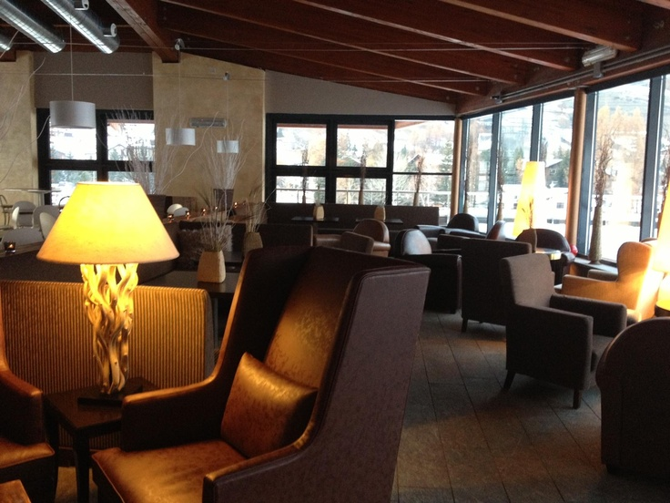 Lounge in the Ski Jumping Hotel