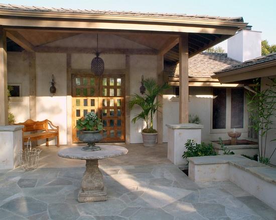 San Diego Ranch Home Courtyards Design House Ideas Ranch House