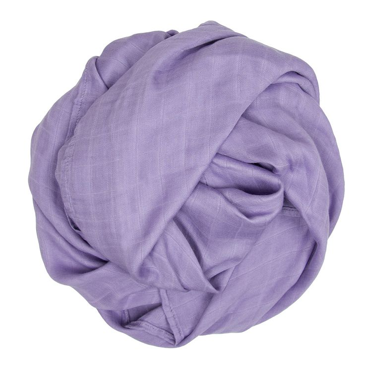 Bamboo Muslin Colours - Plum