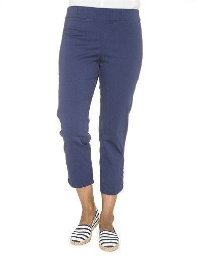 Gordon Smith Stretch Twill Crop Pant   Pants Trousers Jeans Womens Clothing   Rodney Clark