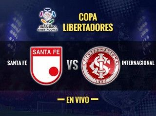 Ver Santa Fe vs Internacional en Vivo – Copa Libertadores 2015