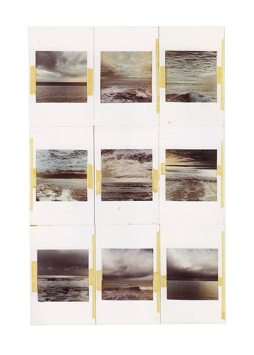 Gerhard Richter, Seascapes (Photo Collages), 1969 —  66.7 cm x 51.7 cm —  Atlas Sheet: 184