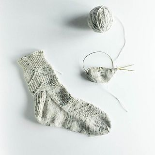 Ravelry: sarijaotto's Speckled Space Socks