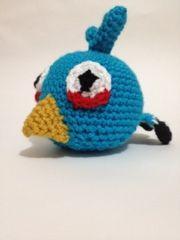 Blue Angry Bird Amigurumi Pattern : Die besten 17 Bilder zu amigurumi crochet auf Pinterest ...