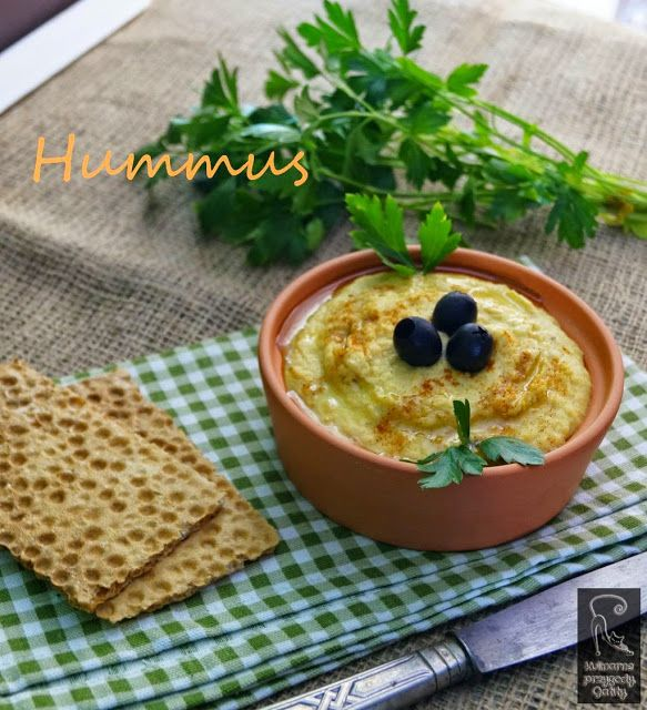 Kulinarne przygody Gatity: Hummus