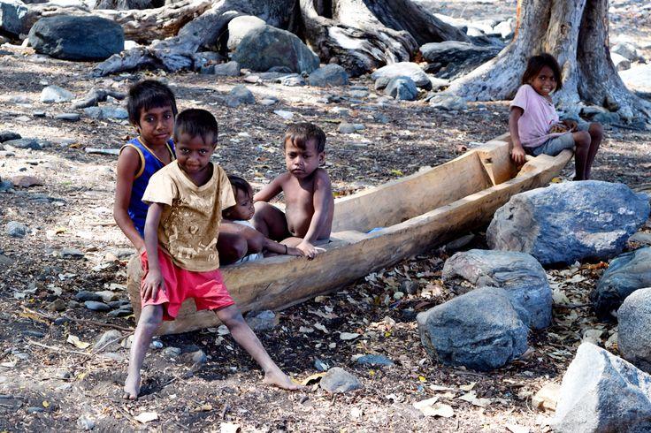 Kids at Metinaro