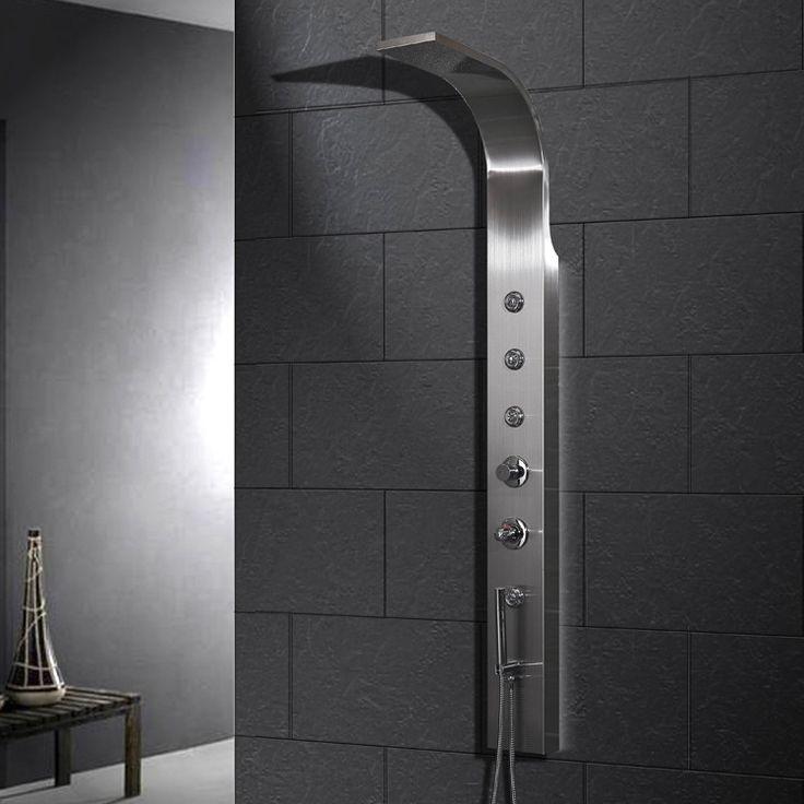 45 best Shower Panels images on Pinterest | Shower panels, Showers ...