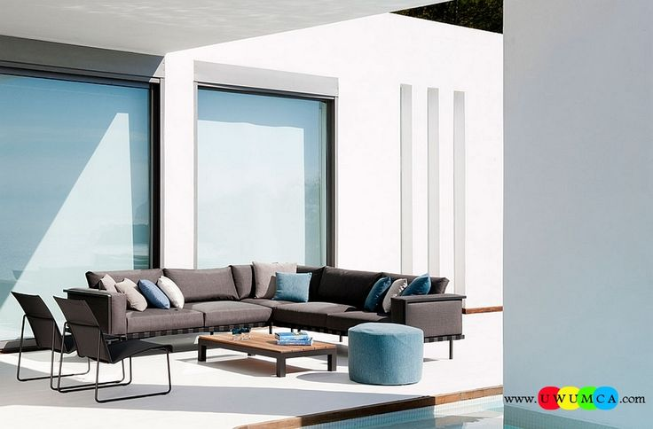 Furniture:Rustic Outdoor Summer Lounge Furniture Collection Easy Summer Garden Lounge Escapes Sofas Chairs Bar Table Set Give The Outdoor Landscape A Revitalized Look With The Natal Alu Decor Collection Luxurious Outdoor Decor Fruniture Collection To Enliven Your Relaxed Summer Lounge!