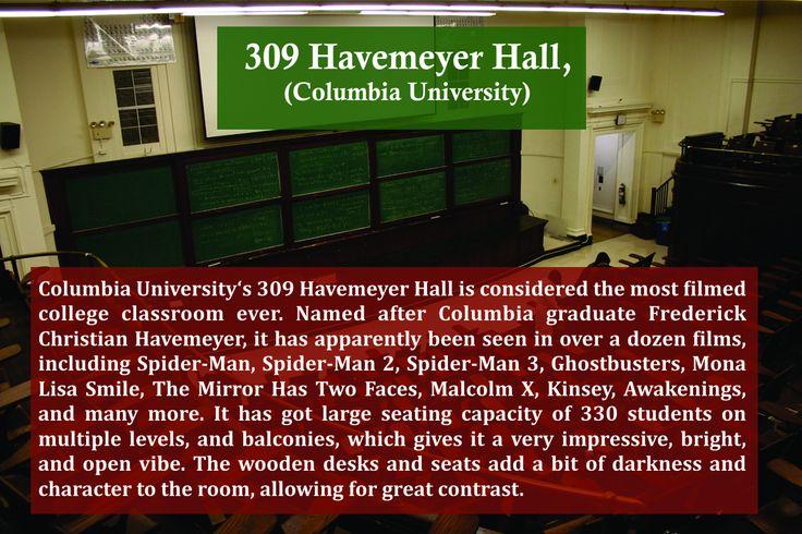 Most Filmed College Classroom Ever